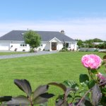 View of Inishfree House and Garden for use by our guests