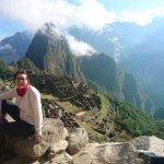 el ulrimo dia, ya en MAchu Pichu