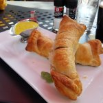 My husband and I enjoyed lunch. Sausage rolls as an appetizer were delicious but so filling! The
