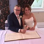 Our awesome wedding at the castle hotel