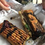 HEAVY and scruptuous roast beef sandwich