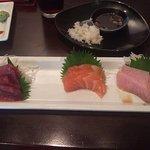 Sushimi selection