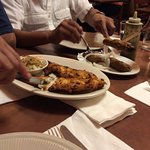 Tandoori fish and chicken seekh kababa