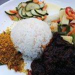 Lunch at Sampurna