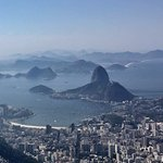 View from Christ Redeemer at Corcovado