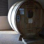 dry sauna in pool area