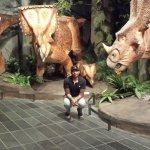Dinosaure avant l'humain.