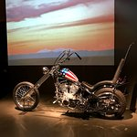 The Western special exhibit includes Captain America chopper from Easy Rider