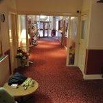 Highlander Hotel lobby
