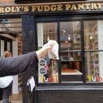 Exteriör på Roly's fudge pantry