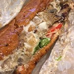 Vegan phili cheese steak and a great menu