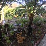 The front garden where the name originates I suspect.