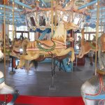 Horses on the Pullen Park Carousel