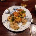 Some sort of shrimp dish