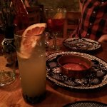 A Paloma - grapefruit and tequila.
