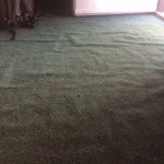 Carpet in room with waves (2)