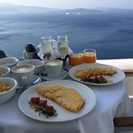 I still can't believe this was real...this was our breakfast every morning, on our balcony. Amaz