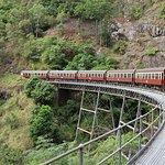 Kuranda Scenic Railway - At Barron Falls Station