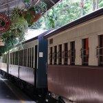 Kuranda Scenic Railway - At Kuranda Station Platform
