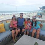 Rocha family enjoying the view