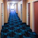 Bright, Colorful Hallways