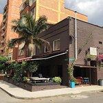 Barrio Central Cafe Bar's beergarden...
