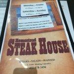 Foto de Homestead Steak House