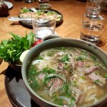 Wagyu beef Pho at Square One