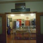 The military display room!