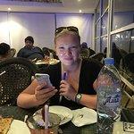 enjoying some sheesha at Havana Cafe