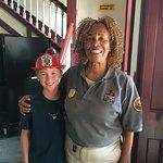 Wonderful firehouse volunteer