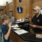 Recommend the Junior Ranger program if you are visiting with children