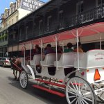 Hop on a carriage at Jackson Square