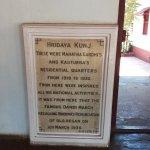 Residence of Gandhi