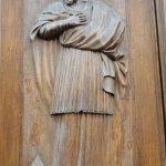 Sculpture from the main doors.