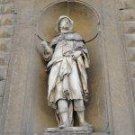 Sculpture of Saint Alessio.