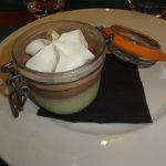tiramisu chocolat pistache = excellent