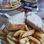 Gigantic sandwiches!