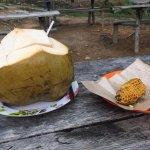 Coconut and BBQ corn