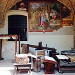 affreschi e macchinari
