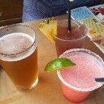 Beer, Slushy or Iced drinks