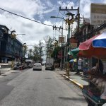 the street to patong beach