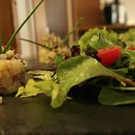 Tartare de hareng et pommes de terre