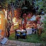 Blue House Tea Secret Garden in the heart of Beirut