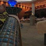 Tepidarium Ceramic Heated Loungers Room