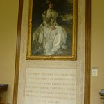In the entrance hall