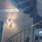 Inside Stairway decor.