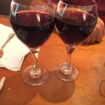 our glasses of Chianti