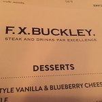 Foto de F.X. Buckley Steakhouse