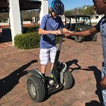 Segway tour with Maurice